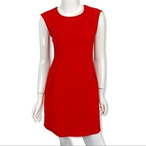 COLLECTIVE CONCEPTS SHEATH DRESS MEDIUM RED